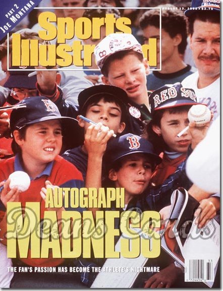 1990 Sports Illustrated - No Label   August 13  -  Autograph Madness