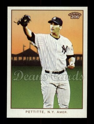 2009 Topps 206 #277  Andy Pettitte