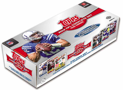 2012 Topps     Football Factory Sealed Complete Set