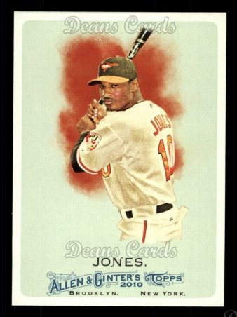 2010 Topps Allen & Ginter #261  Adam Jones