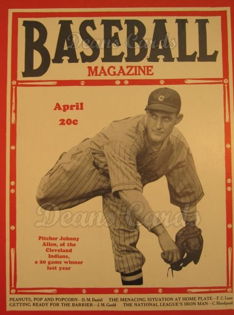 1937 Baseball Magazine    April