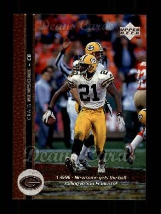 1996 Upper Deck #279  Craig Newsome