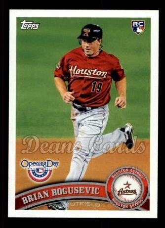 2011 Topps Opening Day #56  Brian Bogusevic
