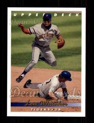 1993 Upper Deck #273  Lou Whitaker