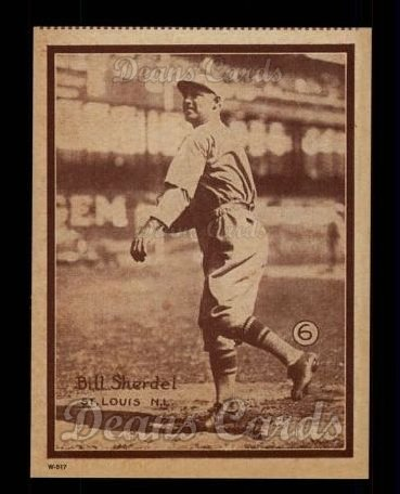 1931 W517 Reprints #6  Bill Sherdel