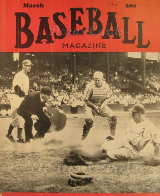 1946 Baseball Magazine    March