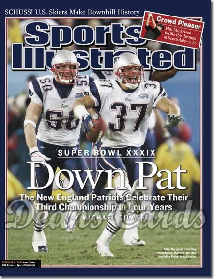 2005 Sports Illustrated   February 14  -  Rodney Harrison Mike Vrabel New England Patriots Win Super Bowl XXXIX