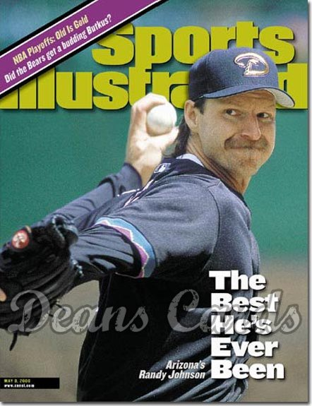 2000 Sports Illustrated   May 8  -  Randy Johnson Arizona Diamondbacks