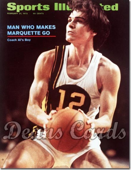 1972 Sports Illustrated - With Label   February 21  -  Allie McGuire (Marquette)