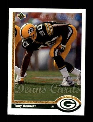 1991 Upper Deck #397  Tony Bennett