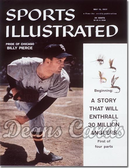 1957 Sports Illustrated - With Label   -  Billy Pierce     May 13  -  Billy Pierce (Chicago White Sox)