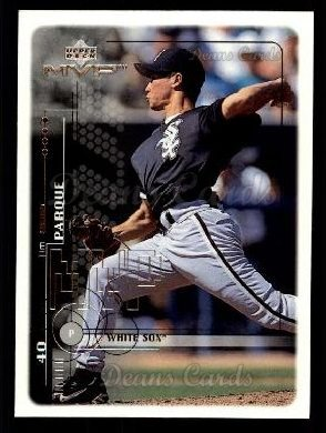 1999 Upper Deck MVP #50  Jim Parque
