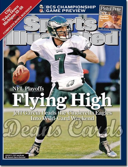 2007 Sports Illustrated   January 8  -  Jeff Garcia Philadelphia Eagles