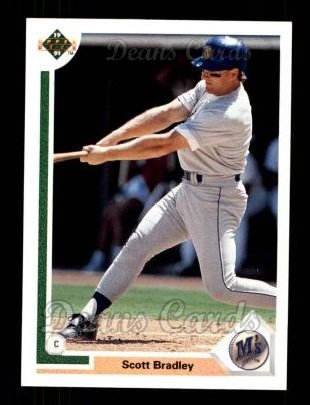 1991 Upper Deck #130  Scott Bradley