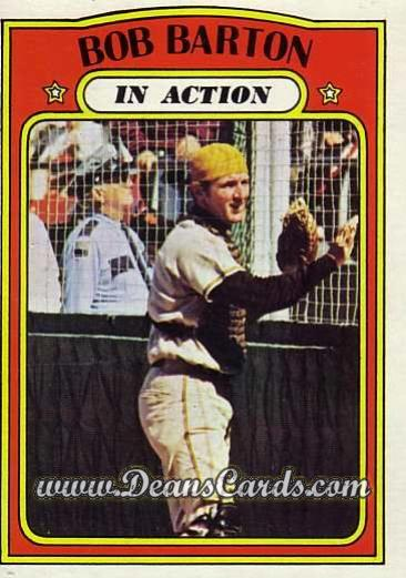 1972 O-Pee-Chee #40   -  Bob Barton In Action