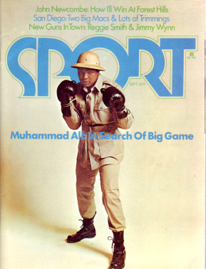 1974 Sport Magazine   -  Muhammad Ali  September