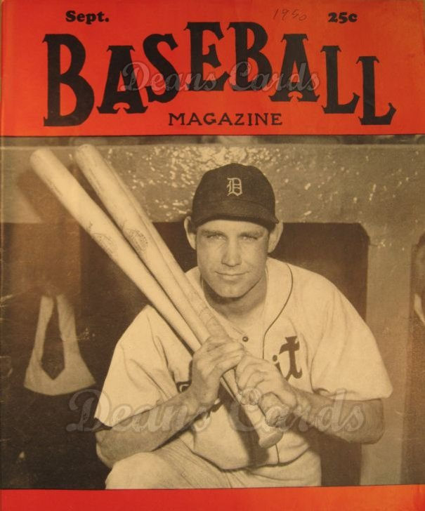1950 Baseball Magazine    September
