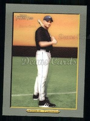2005 Topps Turkey Red #142  Corey Koskie