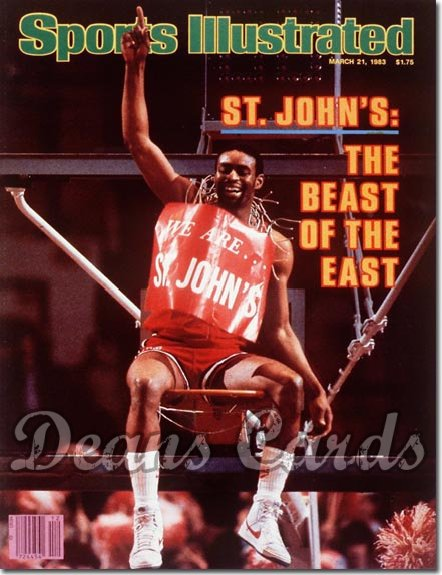 1983 Sports Illustrated - With Label   March 21  -  Billy Goodwin (St.John's Redmen)