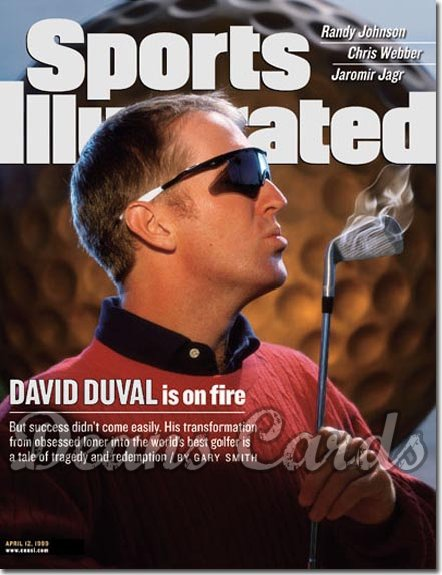 1999 Sports Illustrated - With Label   April 12  -  David Duval