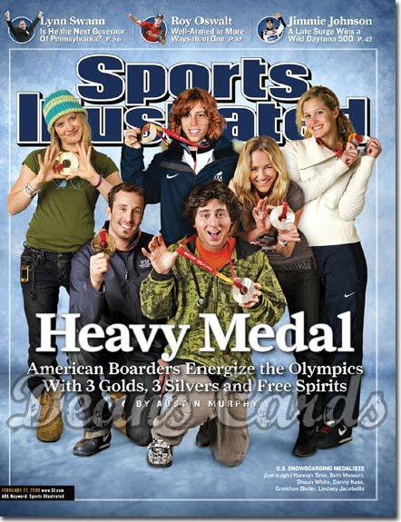 2006 Sports Illustrated   February 27  -  Turino Winter Olympics Snowboarding Medalists