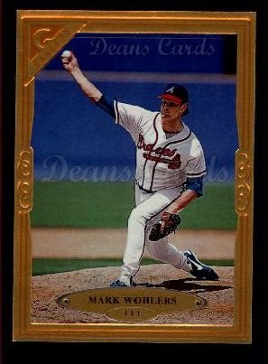 1997 Topps Gallery #121  Mark Wohlers