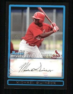 2009 Bowman Prospect #72 BP Michael Swinson