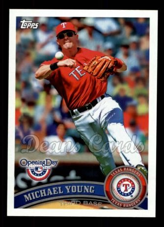2011 Topps Opening Day #139  Michael Young