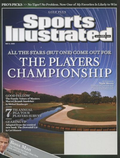 2008 Sports Illustrated - With Label   May 6  -  Golf Plus