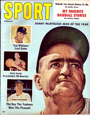 1961 Sport Magazine   -  Danny Murtaugh  February