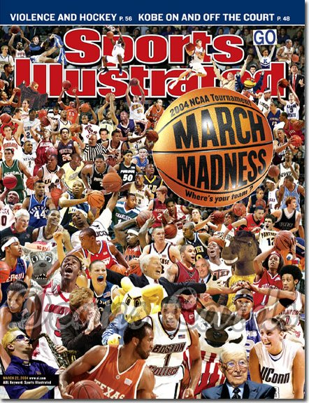 2004 Sports Illustrated - With Label   March 22  -  March Madness