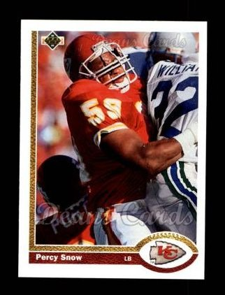 1991 Upper Deck #36  Percy Snow