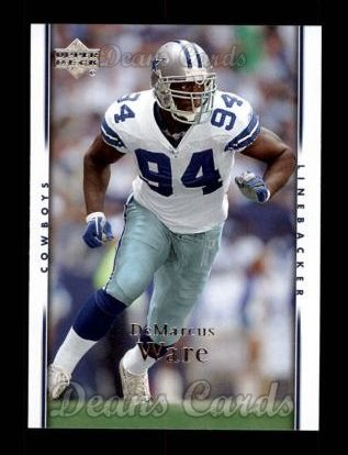 2007 Upper Deck #50  Demarcus Ware