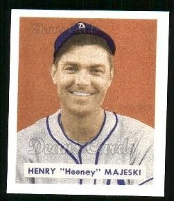 1949 Bowman Reprints #127  Hank Majeski