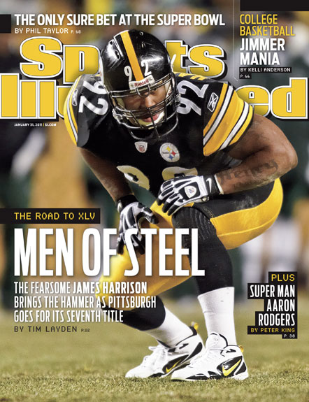 2011 Sports Illustrated   January 31  -  James Harrison