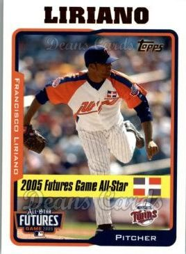 2005 Topps Update #211  Francisco Liriano