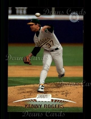 1999 Topps Stadium Club #67  Kenny Rogers
