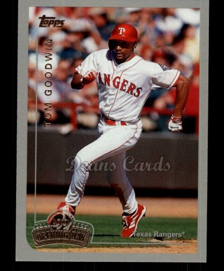 1999 Topps Opening Day #65  Tom Goodwin