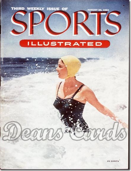 1954 Sports Illustrated   August 30  -  Pamela Nelson Swimsuit Issue (3rd Issue)