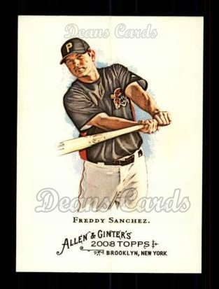 2008 Topps Allen & Ginter #149  Freddy Sanchez