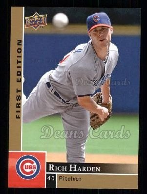 2009 Upper Deck First Edition #66  Rich Harden