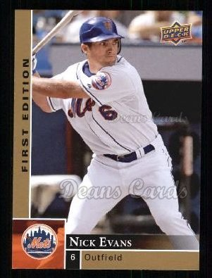 2009 Upper Deck First Edition #186  Nick Evans