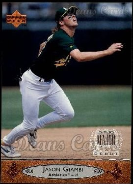 1996 Upper Deck #412  Jason Giambi