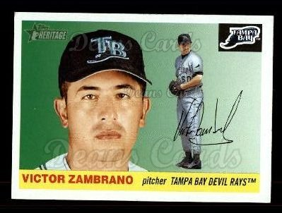 2004 Topps Heritage #201  Victor Zambrano