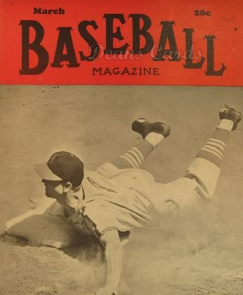 1943 Baseball Magazine    March