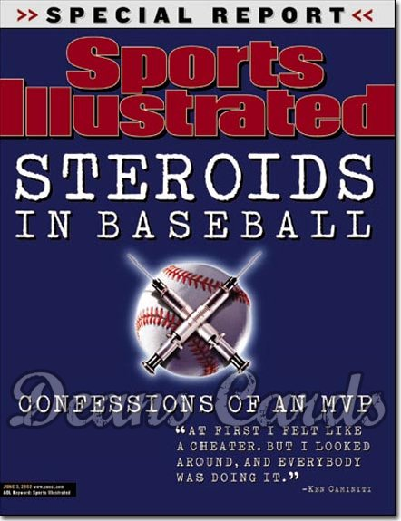 2002 Sports Illustrated   June 3  -  Steroids in Baseball