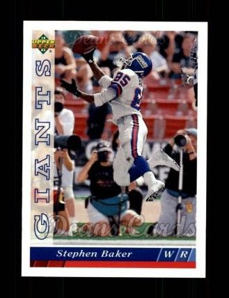 1993 Upper Deck #114  Stephen Baker