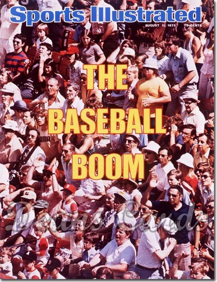 1975 Sports Illustrated - With Label   August 11  -  Baseball Boom