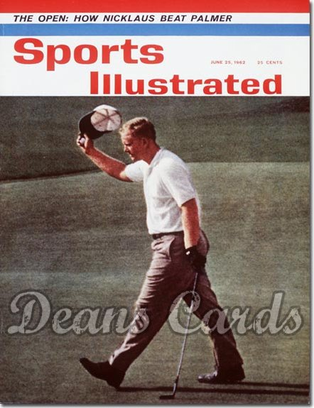 1962 Sports Illustrated - With Label   June 25  -  Jack Nicklaus