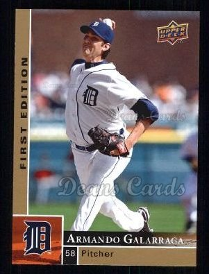 2009 Upper Deck First Edition #103  Armando Galarraga